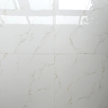 HB6248 crystal vitrified glaze white ceramic polished tiles