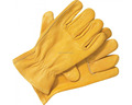 Brand MHR double palm high quality drilling leather work gloves