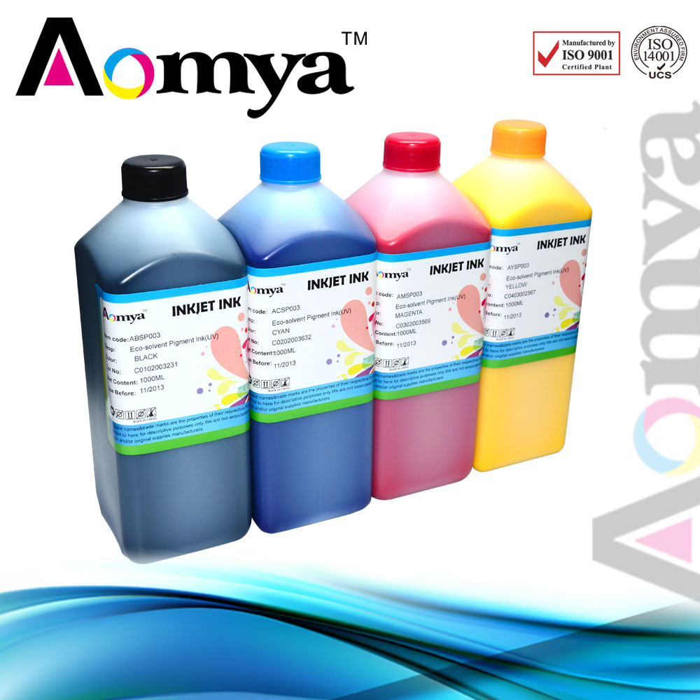 Alibaba Best Product vivid color Eco dye solvent ink for Roland Bn-20 printer
