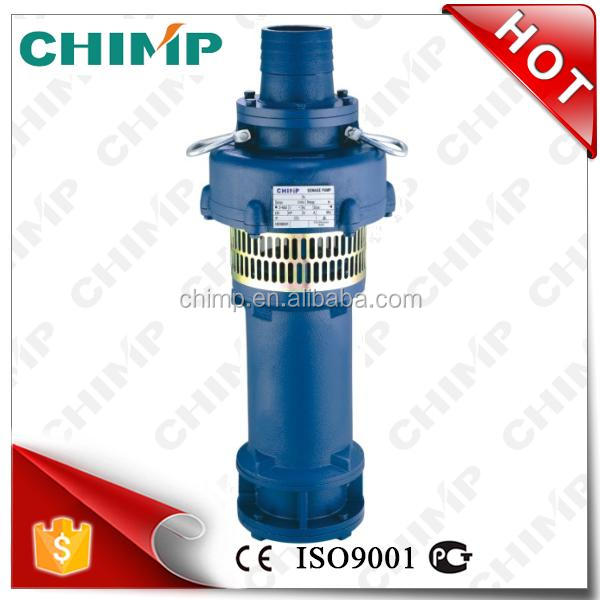 high quality motor 110V60HZ cast iron QY oil filled submersible well pump