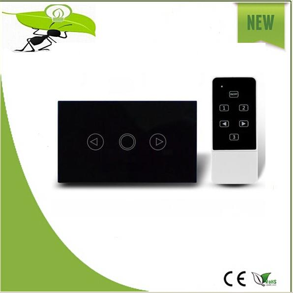 Wireless US/AU Standard, Smart home, Crystal Glass Panel, AC110~250V, LED indicator, electric switch touch screen