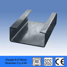 Building Material ASTM JIS Standard SS400 A36 Galvanized Slotted C Channel Steel Price
