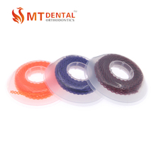 orthodontic dental power chain close / short / continuous o-rings elastics