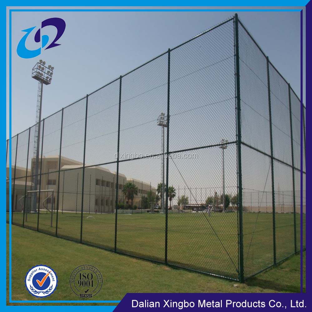 Customized chain link fence garden fence