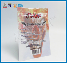 alibaba china suppliers customized aluminum foil tobacco pouch with zip lock ,cigarette packaging bags