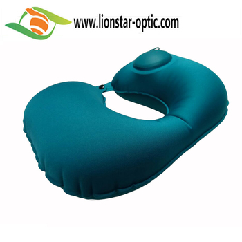 90%-95% DISCOUNT air pillow inflatable neck pillow, custom logo travel sleep pillow
