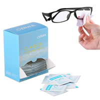Factory wholesales 12*15cm OEM welcome wet clothes tissue for glasses