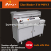 18 year manufacturer OEM ODM Boway 960V3 auto side glue book bind glue binding machine for a5 binder notebook