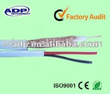 hot selling RG59 coaxial cable with 2 power wire