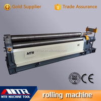 MTR hydraulic spiral sheet plate electrical rolling machine for W11-8*2500