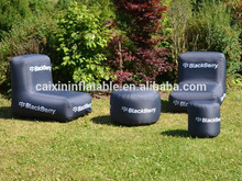 Promotional outdoor inflatable furniture, outdoor inflatable furniture sofa