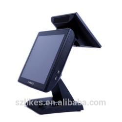"15"" touch screen pos machine all in one epos system"