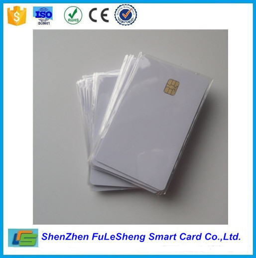 factory price 30mil sle4442/sle4428 smart contact blank card