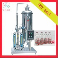 Automatic carbonated-water mixer