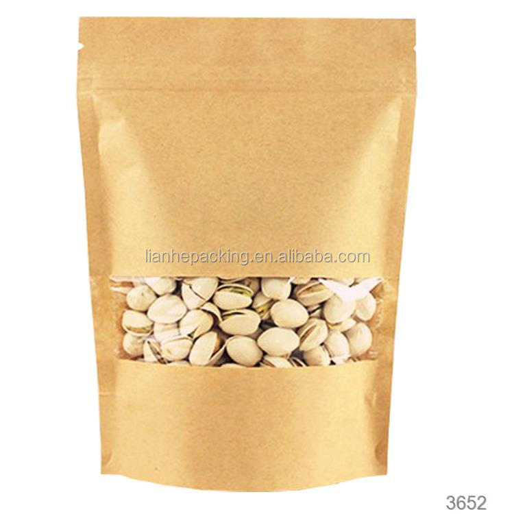 Best Price printing kraft paper bag for coffee beans,100% Arabica coffee bean paper packaging