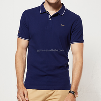 Wholesale Short Sleeve 100% Cotton Men's Custom Design Printing Polo T Shirt in GuangZhou