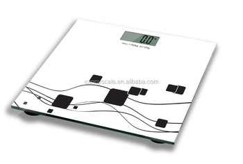 cheapest digital bathroom scale with large lcd display AAA battery 400lb