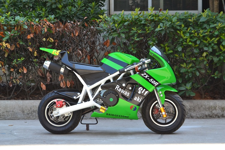 super mini gas cross pocket dirt bike 49cc wholesale (PB110)