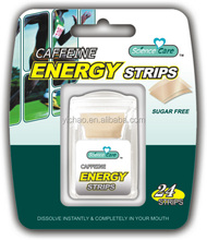 2mg per pcs Caffeine Energy mint strips
