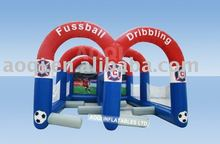 Inflatable football field/inflatable sport games for kids and adult with free EN14960 certificate
