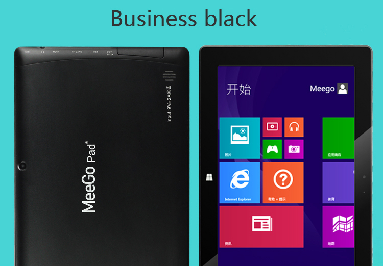 Meegopad Intel Bay Trail Quad Core 10inch windows 8.1 tablet pc Ultrastick 3G GPS Broadcom BT WIFI win8 tablet pc ultrabook