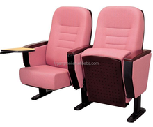 Cinema used fabric material folding theatre chair for sale