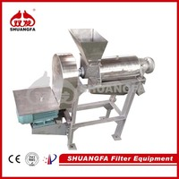 SS304 Large Capacity Juicer Machine, Industrial Apple Juicer Machine