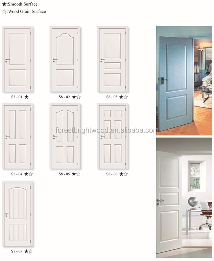 Simple main door design white double entry wood door buy for Simple main door design