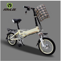 New folding electric bike bicycle price with good lithium battery and motor vehicle