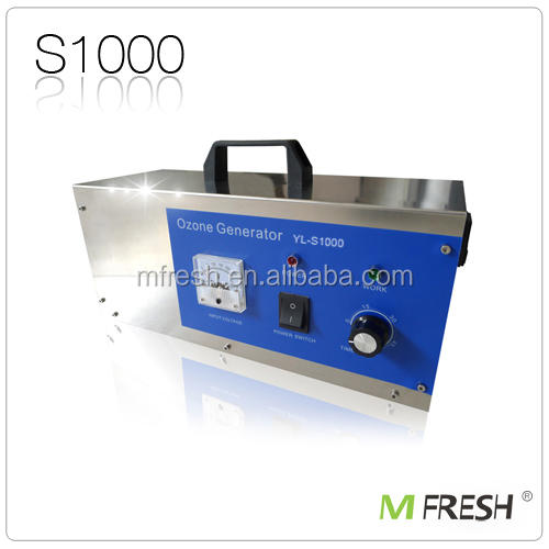 best product for import MFresh S1000 1g ozone generator water purifier made in China