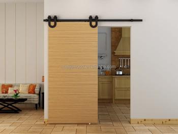 American Style Soundproof Interior Sliding Barn Door
