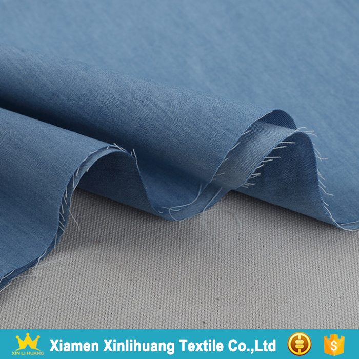 Best Prices Wholesale 6 oz Lightweight 100% Cotton Denim Fabric