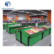 Supermarket Fruit And Vegetable Storage Rack Fruit Display Stand Shelves