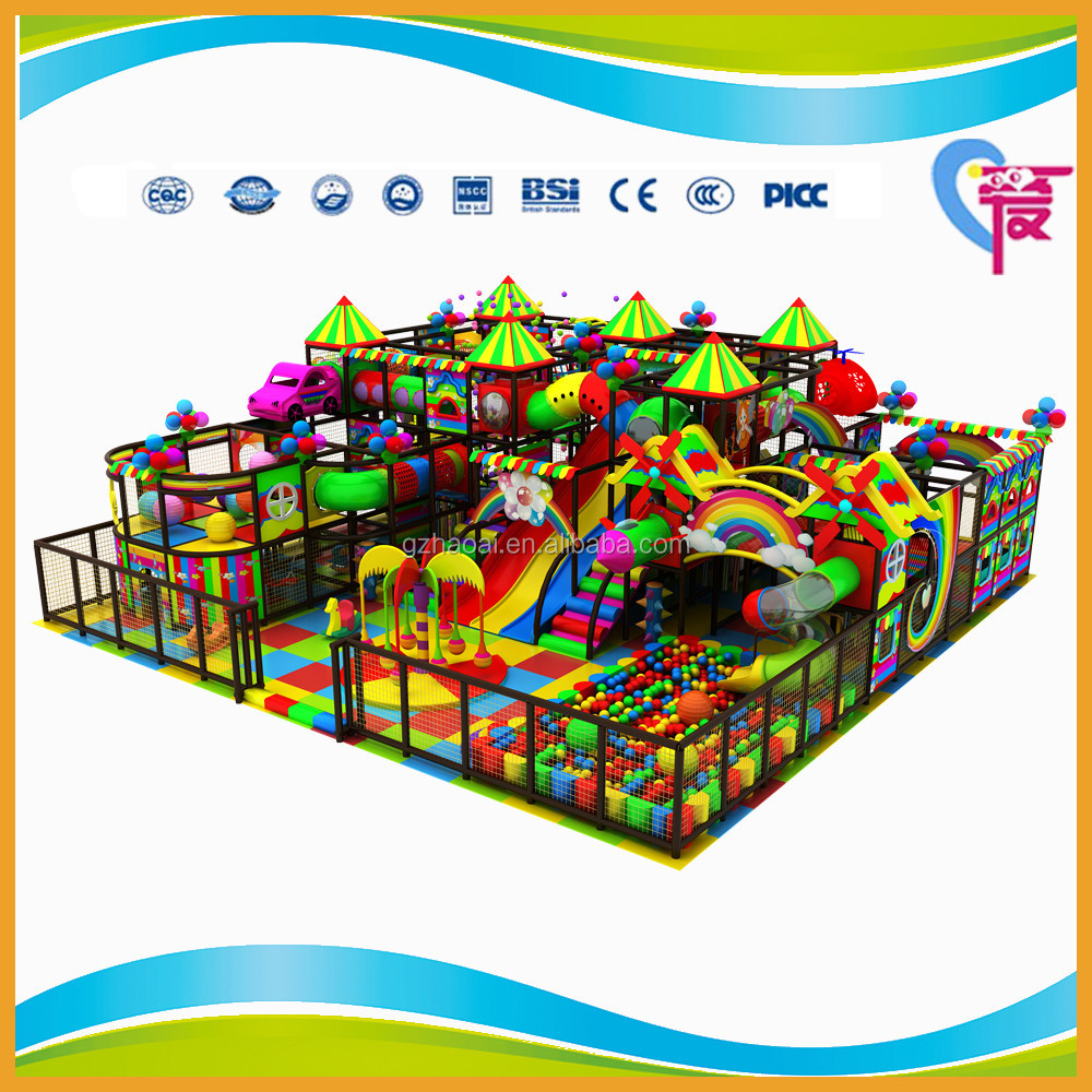 A-15332 Funny Circus Series Coloful Indoor Playground Guangzhou China Factory Design for Children