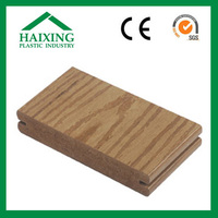 high quality tongue and groove composite decking pvc decking CE,SGS,ani-UV for flooring wood plastic