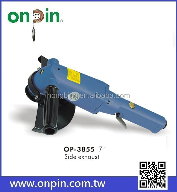 "OP-3855 7"" Air Pneumatic Angle Grinder Tools"