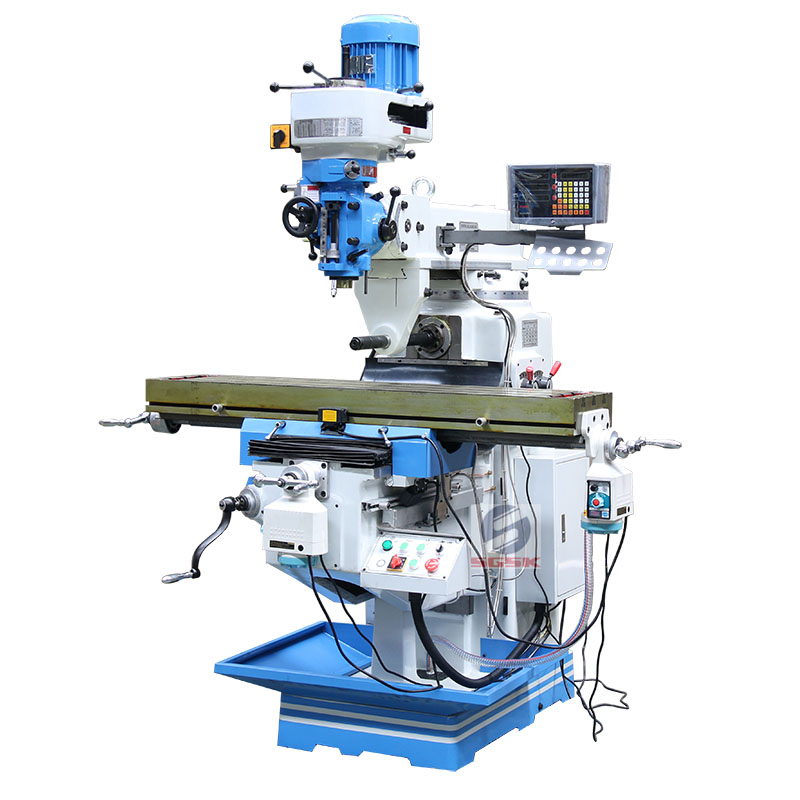 China Universal milling machine conventional 5H small milling machine