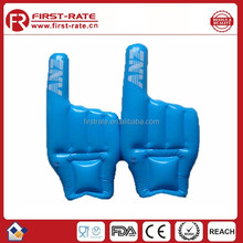 2015 hot selling PVC giant inflatable hand