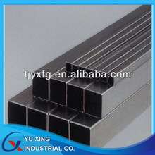 Carbon black steel square pipes, 0.4-30mm wall thickness,10*10-600*600mm