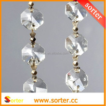 2015 New Garland Diamond Strand Crystal Bead Wedding Decoration