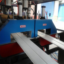 High speed wpc door and window profile production line for large scale PVC products productions