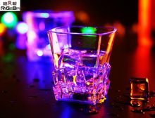 Plastic Eco-Friendly Color Glowing led flashing drink cups LED Shot Glasses