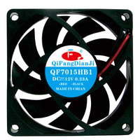 7015 dc 12v 24volt OEM industrial dc motors fan for fireplace