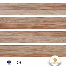 Wood Grain Porcelain Oil Heat Resistant Floor Tile Manufacture