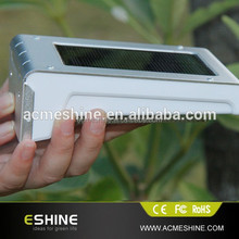 Bright LED Wireless Solar Powered Motion Sensor Light with 800mah buil-in battery