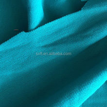 100% spun polyester wicking dry fit knit pique mesh fabric