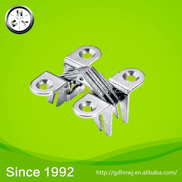 Hot sale concealed invisible hinge for wooden box and Iron door
