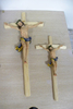 Europe Regional Feature and Home Decoration Use cross crucifix wood