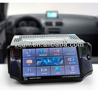 5.0'' GPS DVD Touch screen Monitor TV, Radio, Amplifier, USB, MMC SD Card reader,RDS GPS + Free map