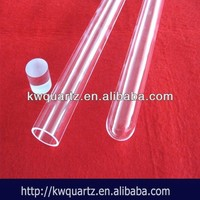 clear quartz glass blowing tube from china manufacture